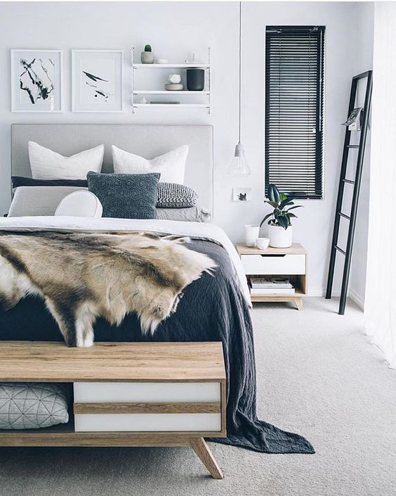41 Modern Scandinavian Bedroom Design Ideas