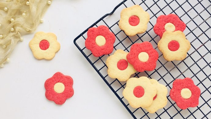 DIY Easy Flower Cookies with Your Kids
