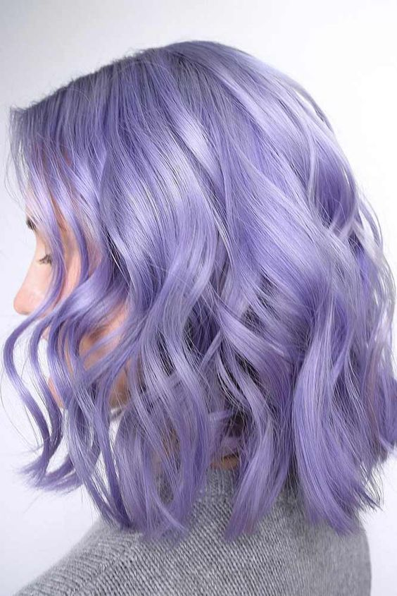 35 Shades Of Purple Hair Give You All The Color Inspiration