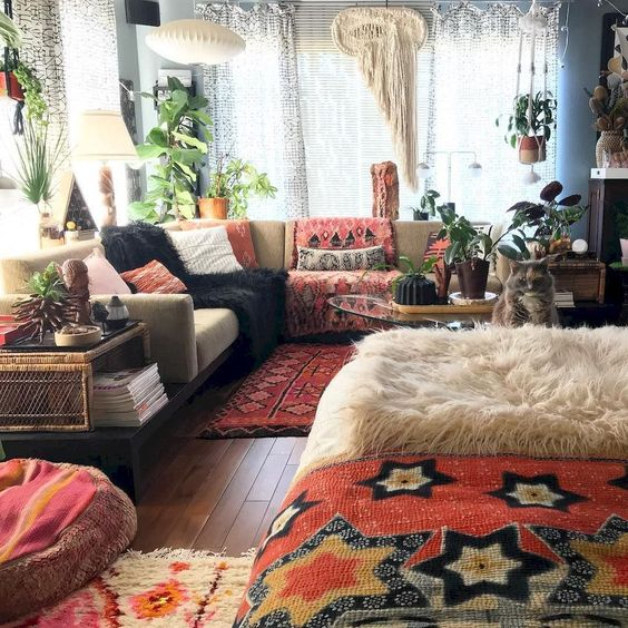 35 Bohemian Interior Home Design Trends and Ideas