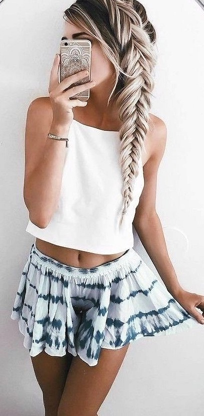 38 Hairstyle And Outfits Combination Makes You Wonderful