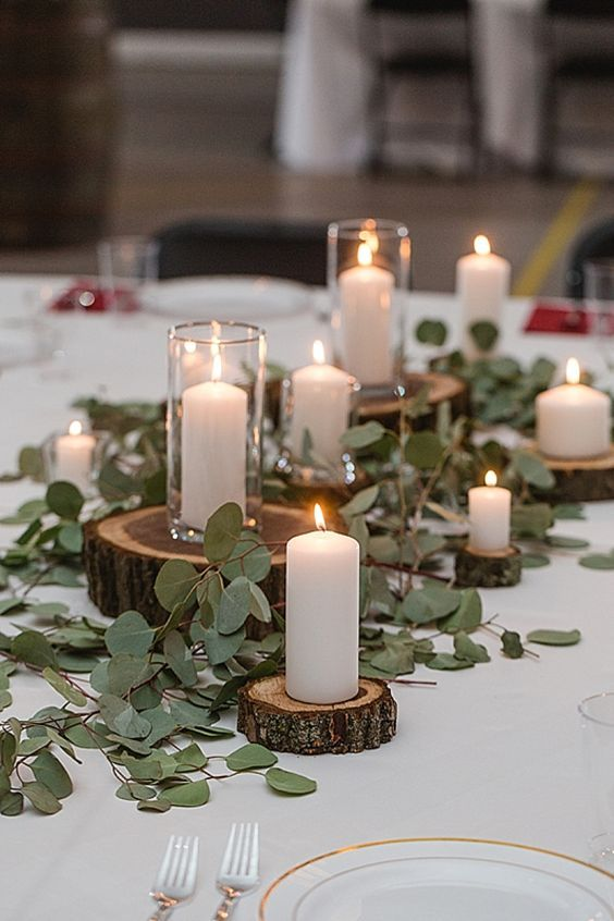 The wonderful use of candles at weddings you don't want to miss