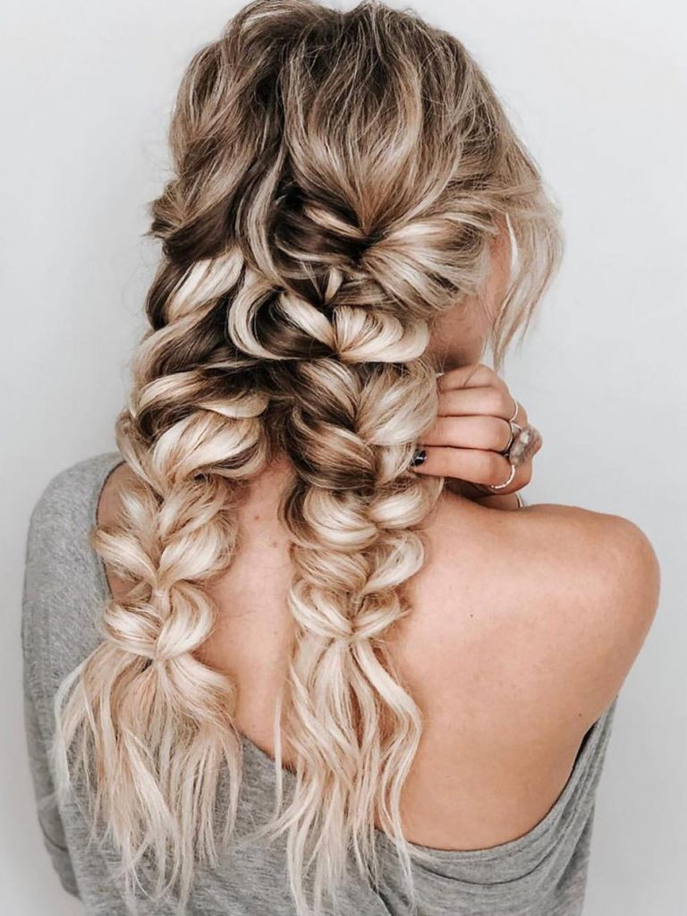 50 Trendy Double Braid Hairstyle Ideas to Keep You Cool